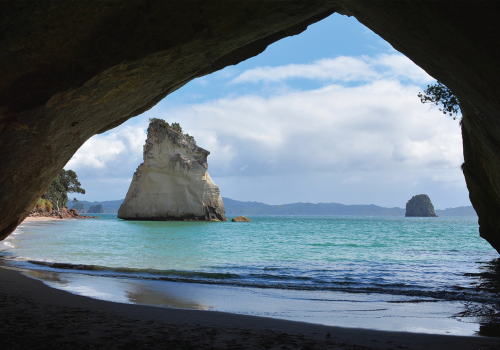 Auckland English Academy Cathedral Cove