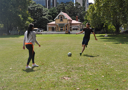 Auckland English Academy Soccer